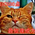 【保存版】TOEICスコア600点を1ヶ月でとる最短勉強法